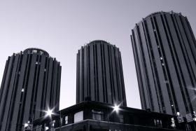 Litchfield Towers are the main residence halls for University of Pittsburgh Freshmen