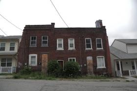 A blighted property sits on Kincaid Street in Garfield.