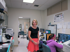 Sarah Ross is a physiologist and itch specialist at the University of Pittsburgh's Neurology Department and Pain Center.