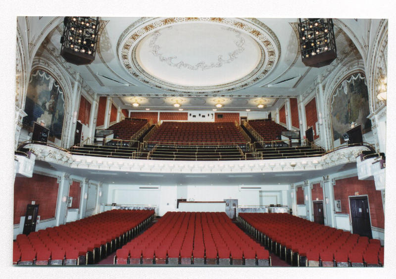 The interior of the Palace Theatre in Greensburg after renovation