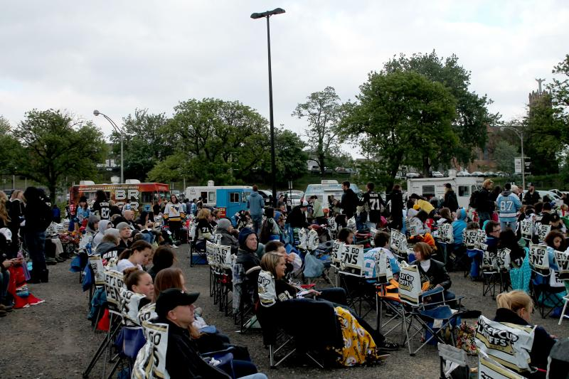 "Food Trucks take advantage of big events like the Penguins ""Big Screen."""
