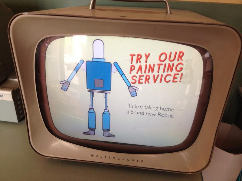 Service Display at Fraley's Robot Repair