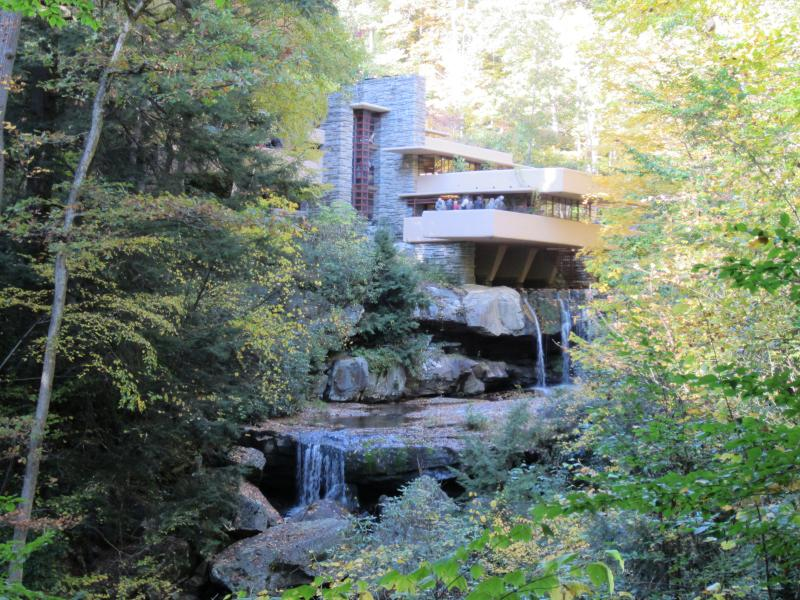 The Opera Theater of Pittsburgh will be performing from the terraces of Fallingwater