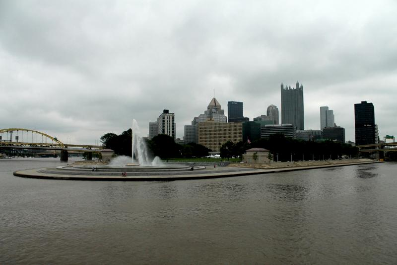 Seeing Pittsburgh from the river offers all new vantage points to take in the downtown skyline.