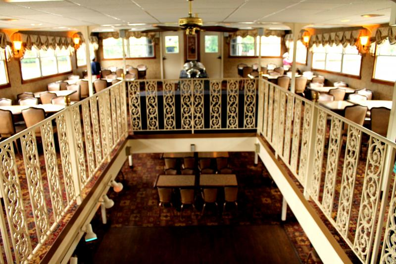 The interior of the Duchess comes equipped with a snack bar and plenty of seating.