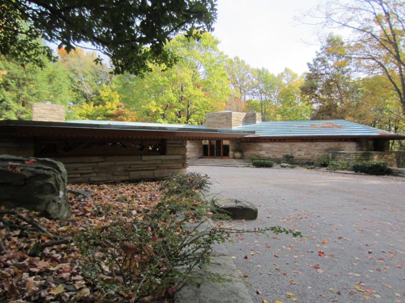 Kentuck Knob is a private residence designed by Frank Lloyd Wright, located near Fallingwater