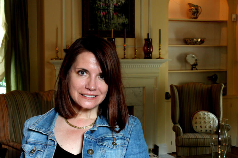 Interior Designer Sharon Danovich in her Edgewood home