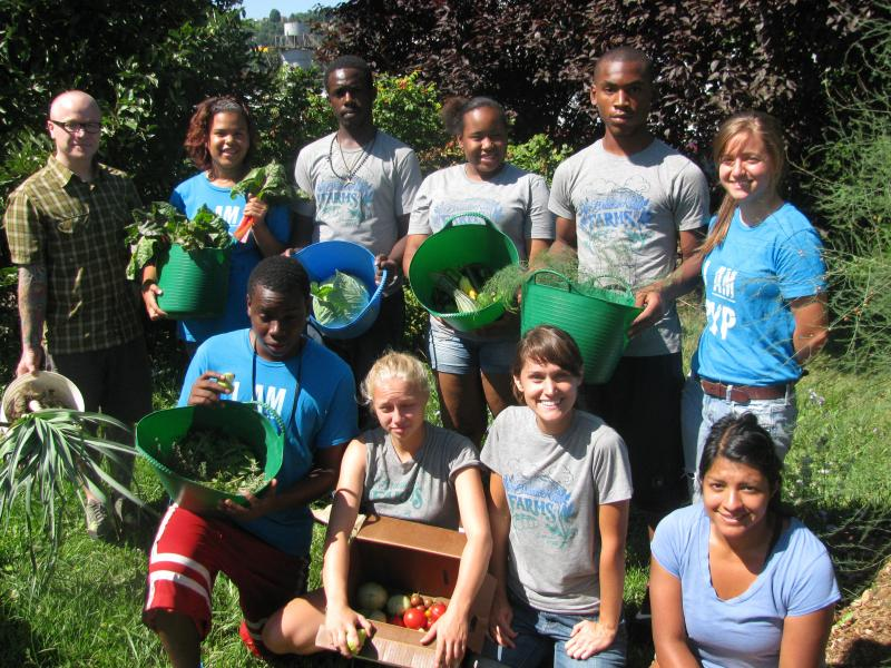 Collaboration and connectivity are central to the Urban Farmer Training program. Students are cooking, planting and weeding, and they're doing it together.