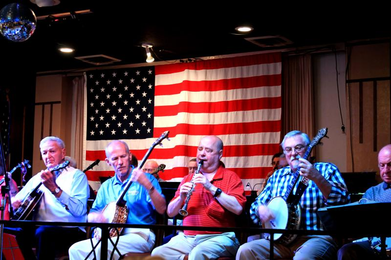 The Pittsburgh Banjo Club holds its public rehearsal every Wednesday night at the Elks Lodge in Pittsburgh's North Side. Even though it's not an official show, the group entertains the diverse audience week after week.