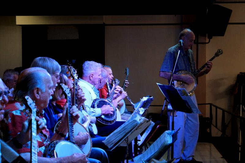 The Banjo Club plays a four string banjo which had found its hey day in the 1920s and '30s.