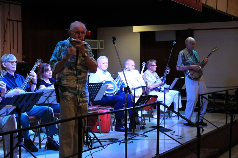 The Banjo Club's usual set could include anything from popular hits of the early twentieth century, to Broadway show tunes, or the occasional polka.