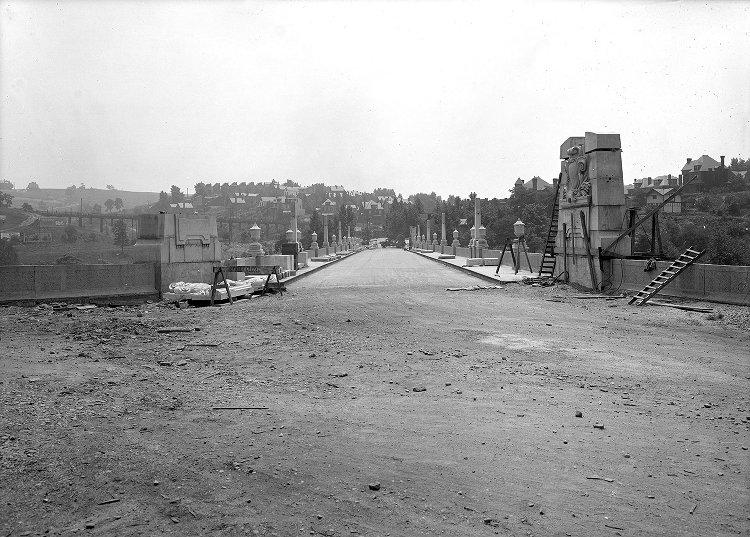 Construction on the structure known at the time as the Beechwood Boulevard Bridge concluded in 1923.