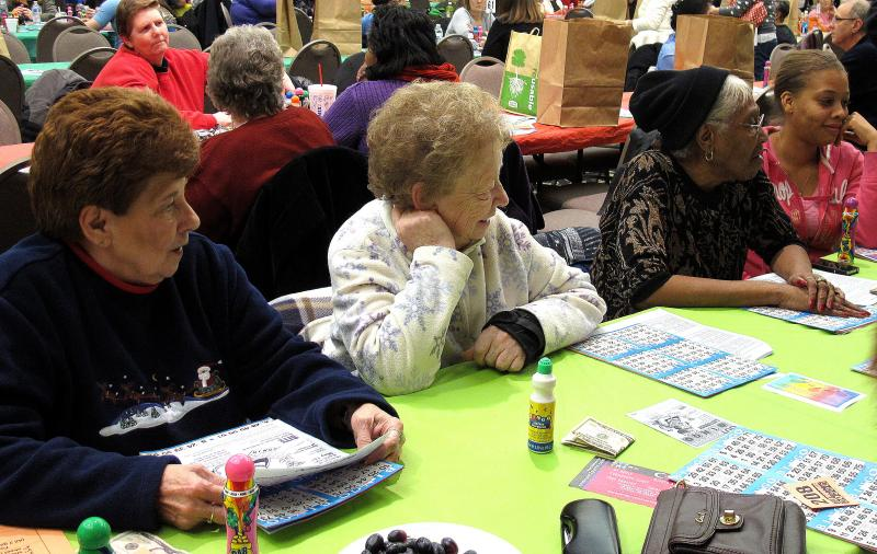 OUTrageous Bingo draws a diverse crowd.