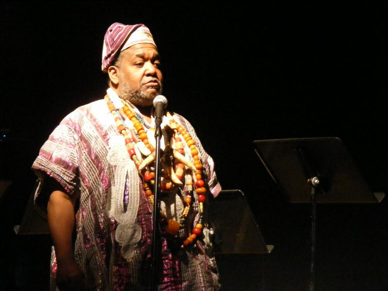 African story teller Temujin will perform at the festival in May.