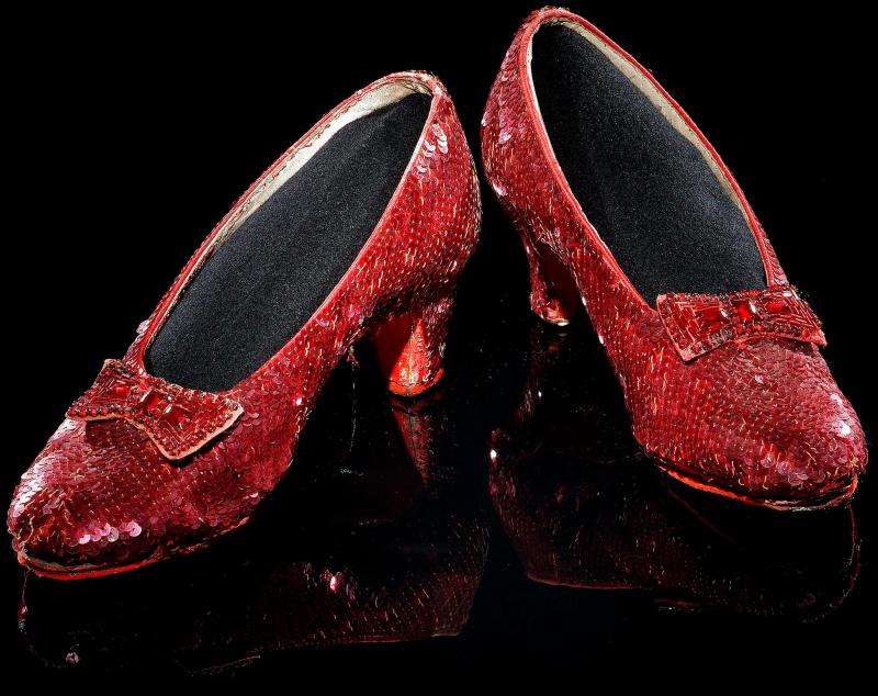 "Dorothy's Ruby Red Slippers from the ""Wizard of Oz"""