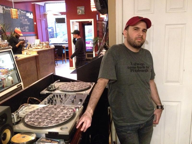 "James ""Selecta"" Scoglietti at 720 Records."