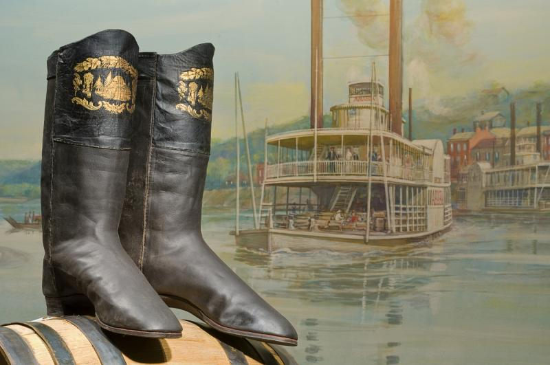Boots found in the steamboat