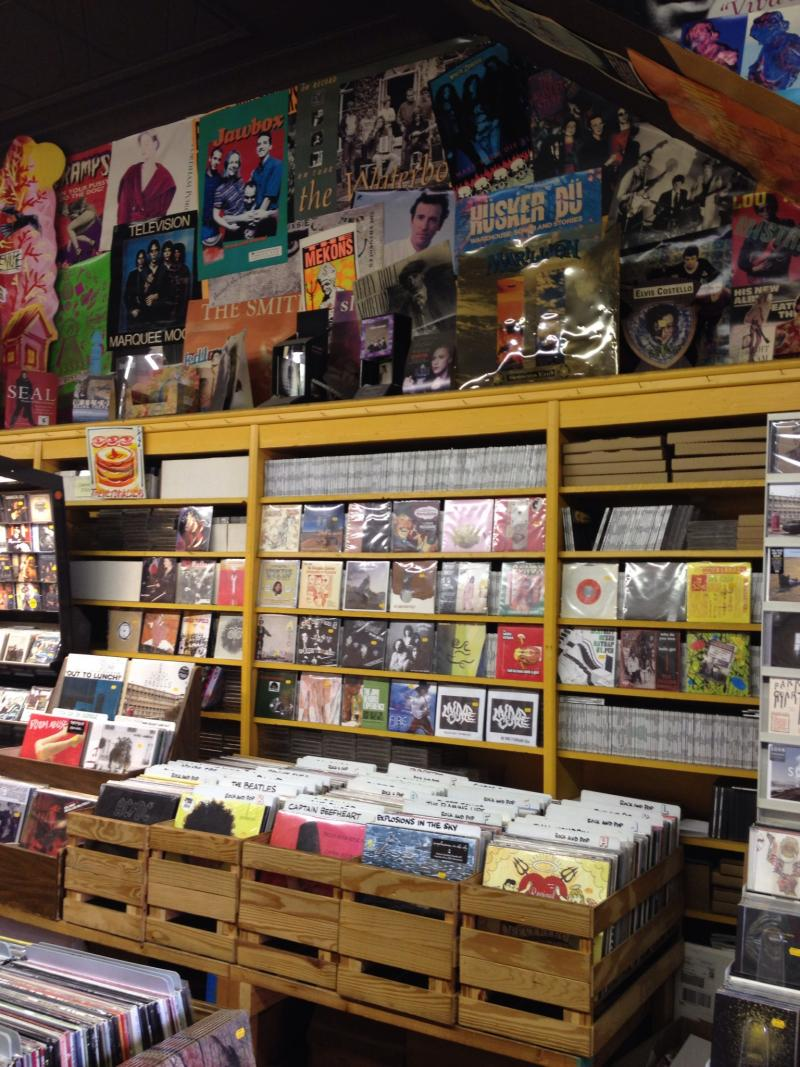Sound Cat Records in Bloomfield.