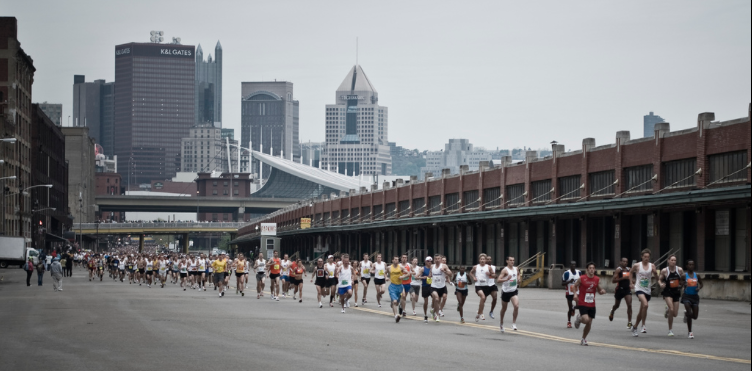 Nearly 40,000 participants will run in the weekend's events.