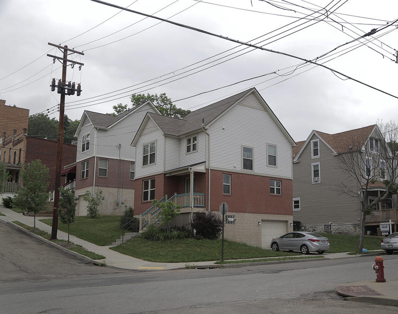 While more than a quarter of the parcels of land are vacant or contain vacant properties in Garfield, newer homes can be found throughout the neighborhood.