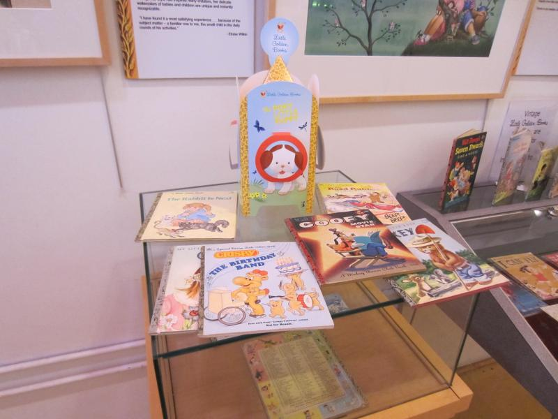 Little Golden Books exhibit at the Toonseum in Pittsburgh