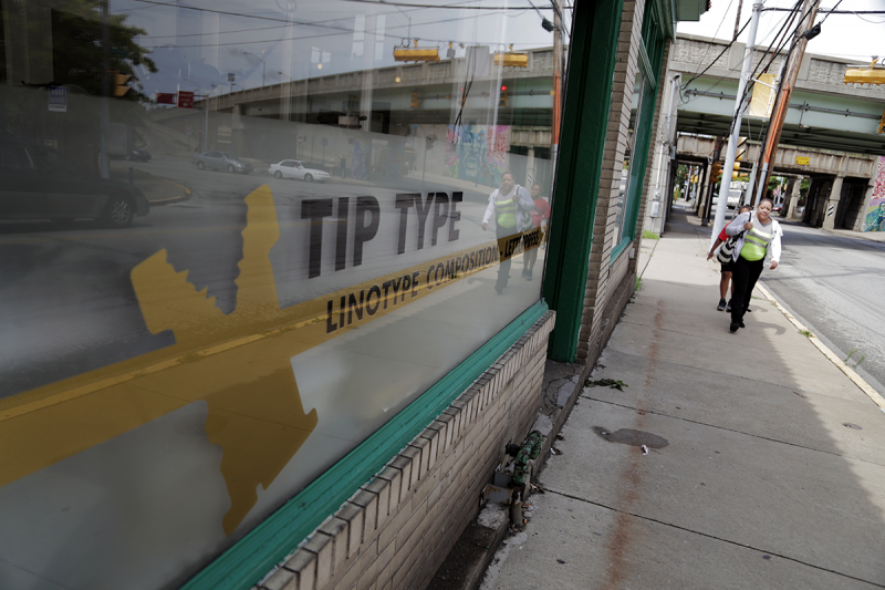 Tip Type isn't just a print shop. It's also a collaborative space for artists of varying backgrounds.