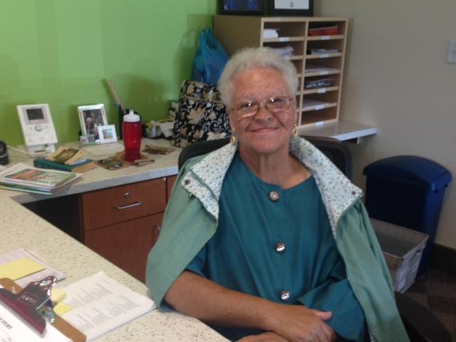Miss Audie Hart Volunteering At The Neighborhood Academy WESA - Audie's grocery store