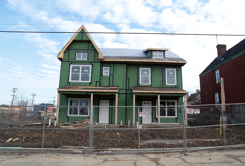 A new housing unit on Carver Street in Larimer.