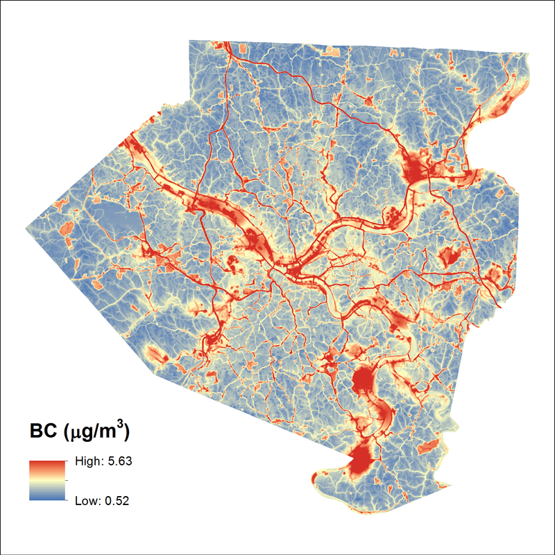 Researcher Maps Pittsburgh's Worst Air Pollution