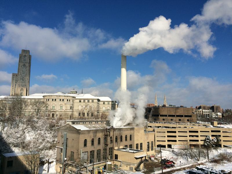 "The Bellefield Boiler Plant, whimsically nicknamed the ""Cloud Factory"" in Michael Chabon's novel ""The Mysteries of Pittsburgh,"" provides steam heat to most of Oakland's major institutions."