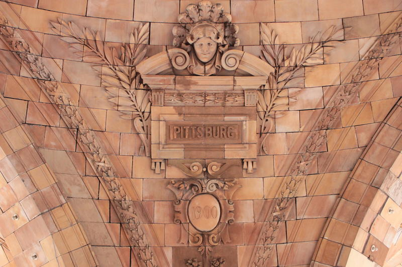 """The Pennsylvanian, the train station on Liberty Avenue, was built in 1900, just after the U.S. Board on Geographic Names required the city to drop its """"h."""""""