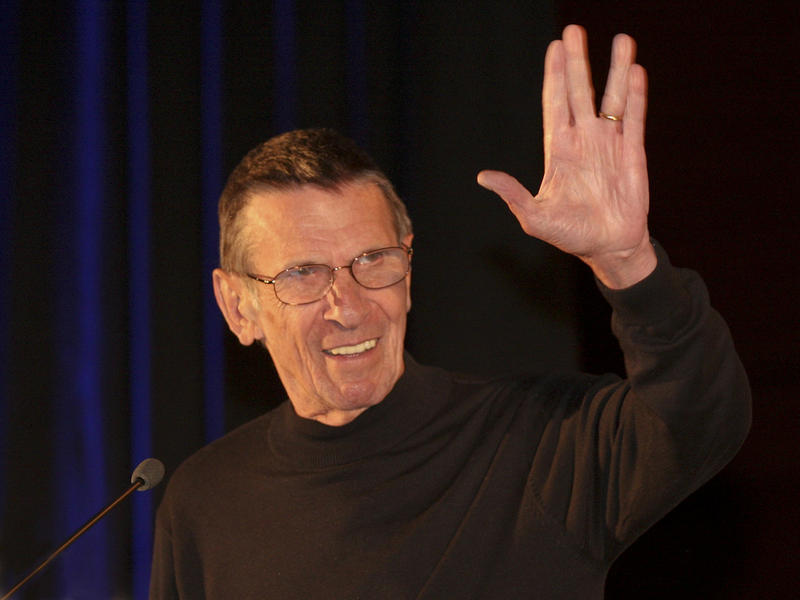 Actor Leonard Nimoy in 2011