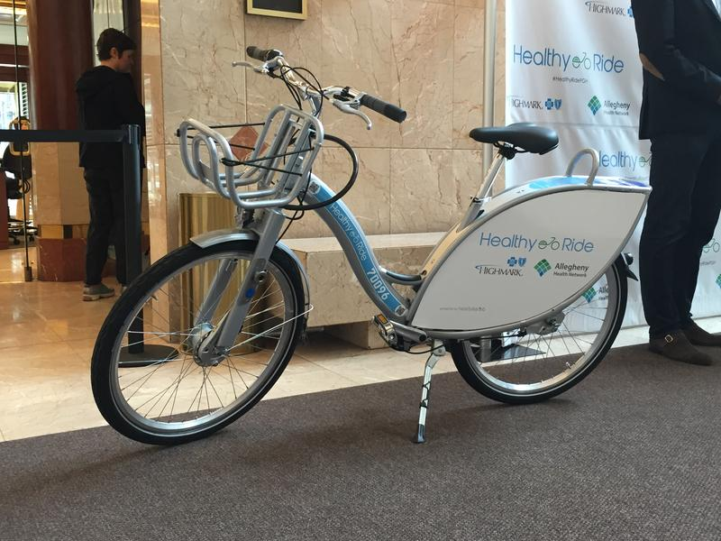 "500 ""Healthy Ride"" bikes are slated for 50 locations in the city of Pittsburgh by the end of May."