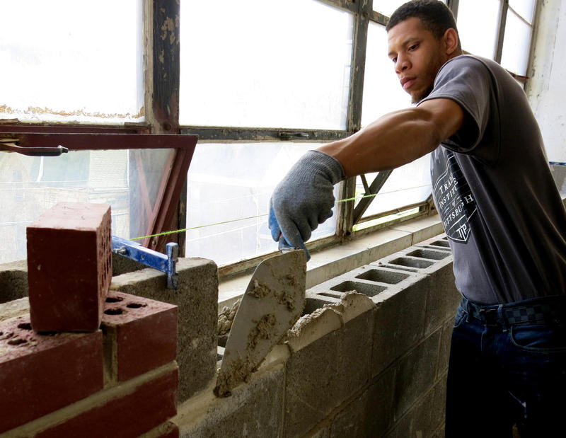 The Trade Institute of Pittsburgh aims to take people off the streets and put them into jobs. TIP offers a 10-week masonry training program that has graduates more than 100 students.