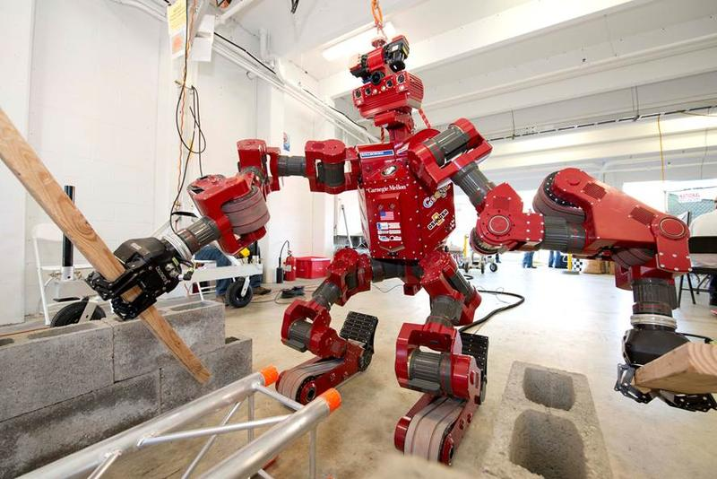 CHIMP was developed by the Tartan Rescue Team, a group of engineers, researchers and technicians within CMU's National Robotics Engineering Center.