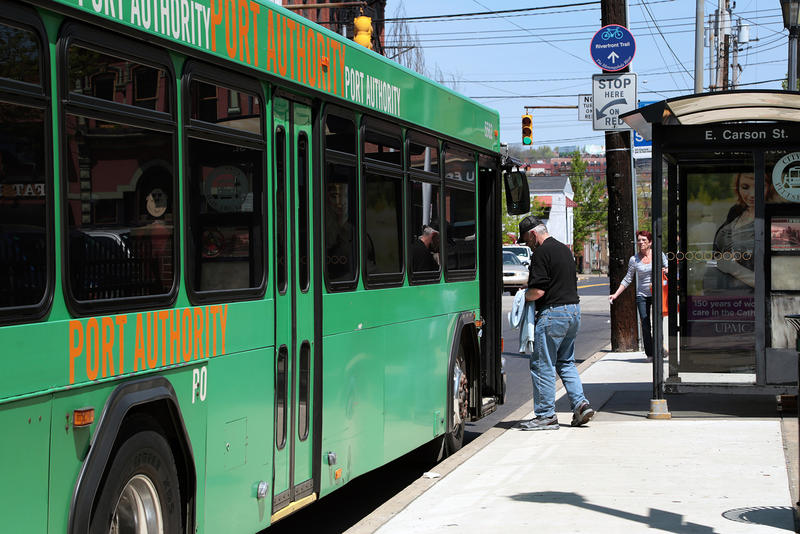 How the port authority is trying to make it easier to ride the bus 90 5 wesa - Port authority pittsburgh ...