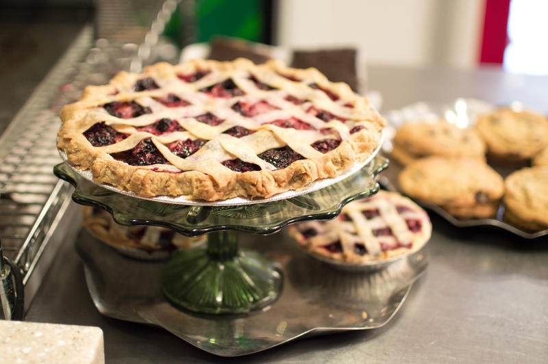 With pies, cookies, tarts and more, the spread at Food Glorious Food would have surely made Oliver Twist's mouth water.