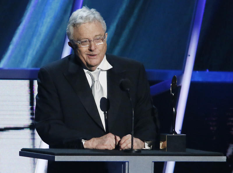 Randy Newman speaks while being inducted into the Rock and Roll Hall of Fame during the Rock and Roll Hall of Fame Induction Ceremony at the Nokia Theatre on Thursday, April 18, 2013 in Los Angeles.