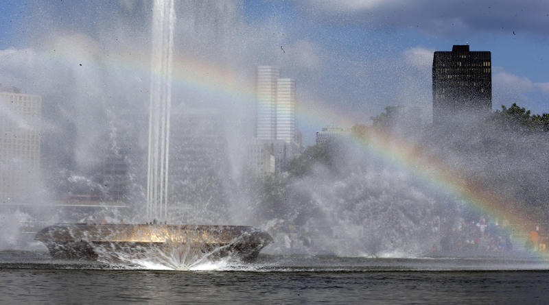 "Pittsburgh's iconic fountain at the tip of Point State Park features prominently in city lore, including that of a final resting place for a long lost ""fourth river."" In reality, the fountain runs on treated city water."