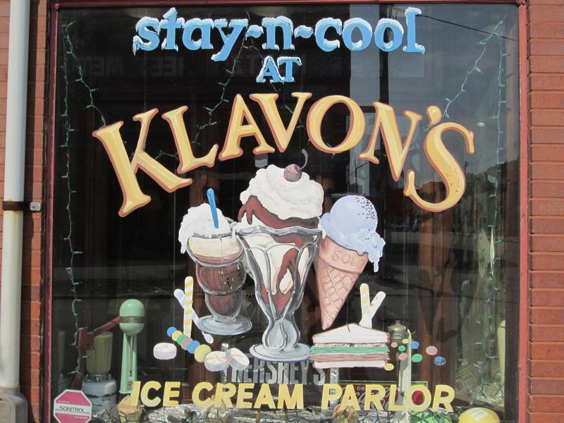 Klavon's Ice Cream Parlor in the Strip District