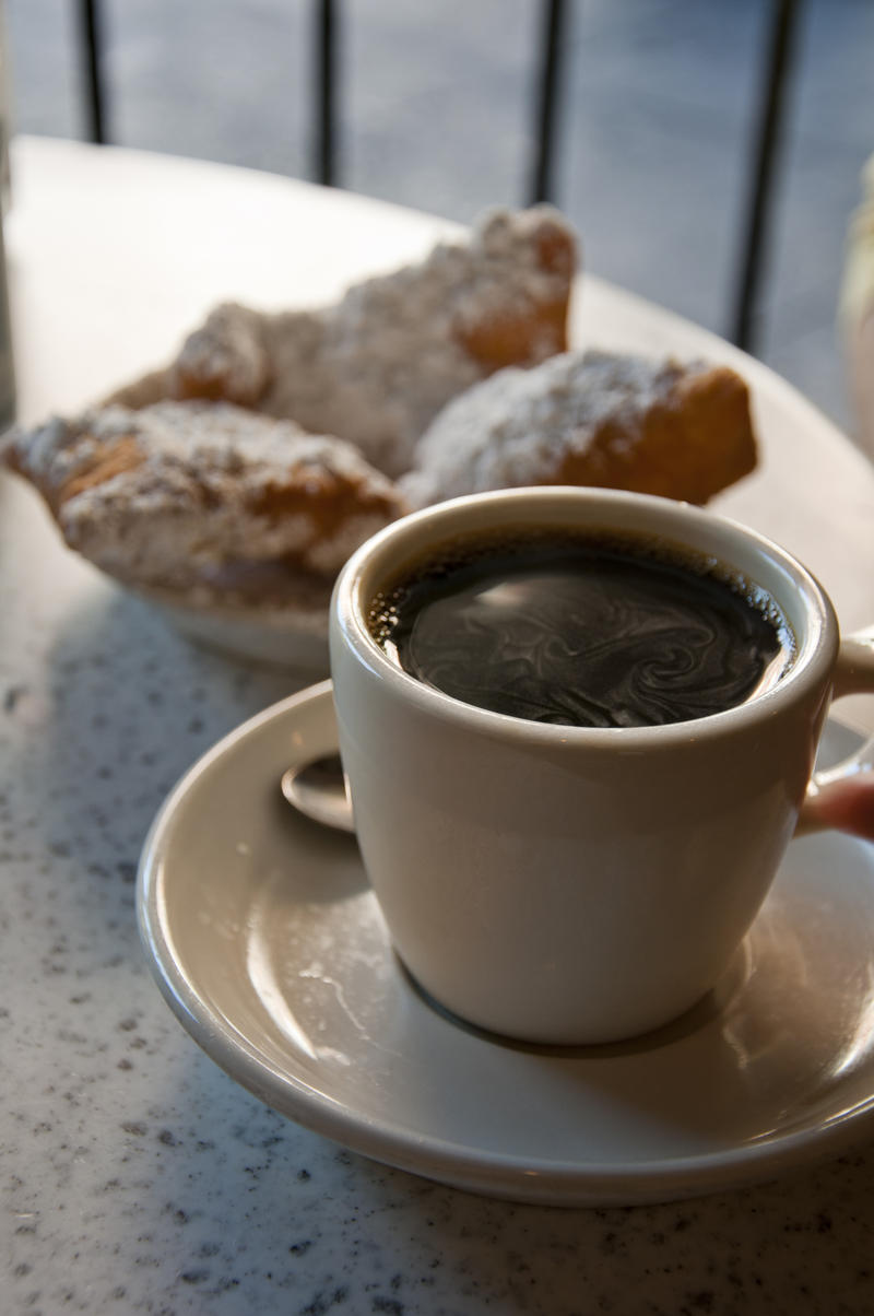 Beignets and Coffee at Café du Monde.