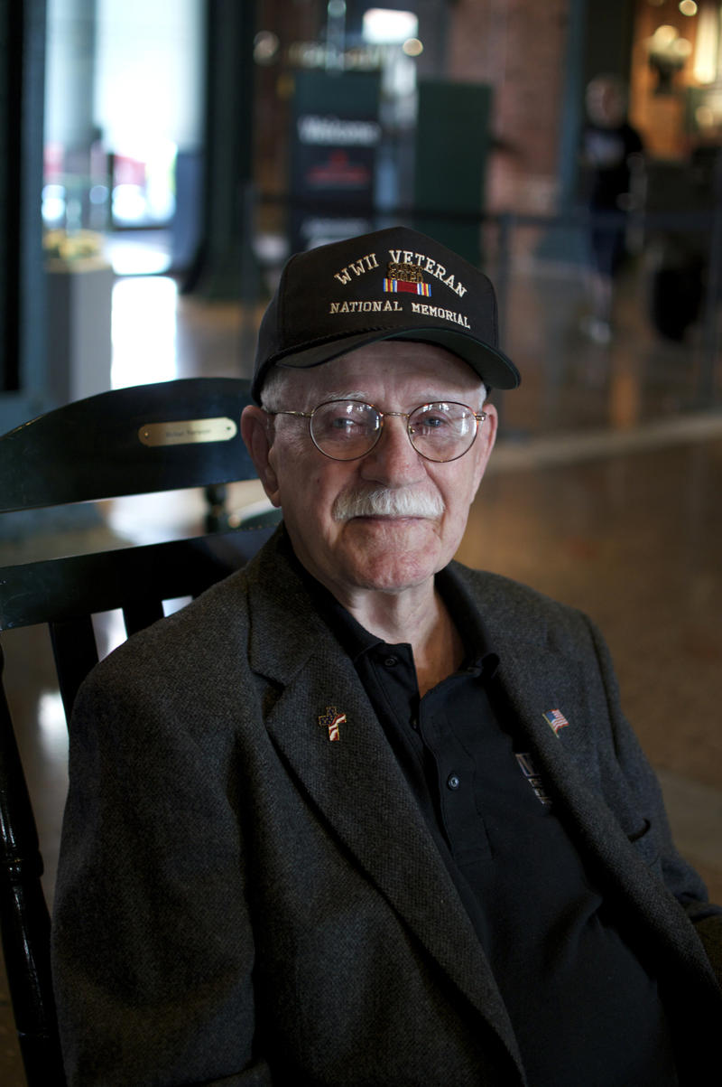 George Herwig, 92, of West Mifflin served in the U.S. Coast Guard from Jan. 1942 to Nov. 1946.