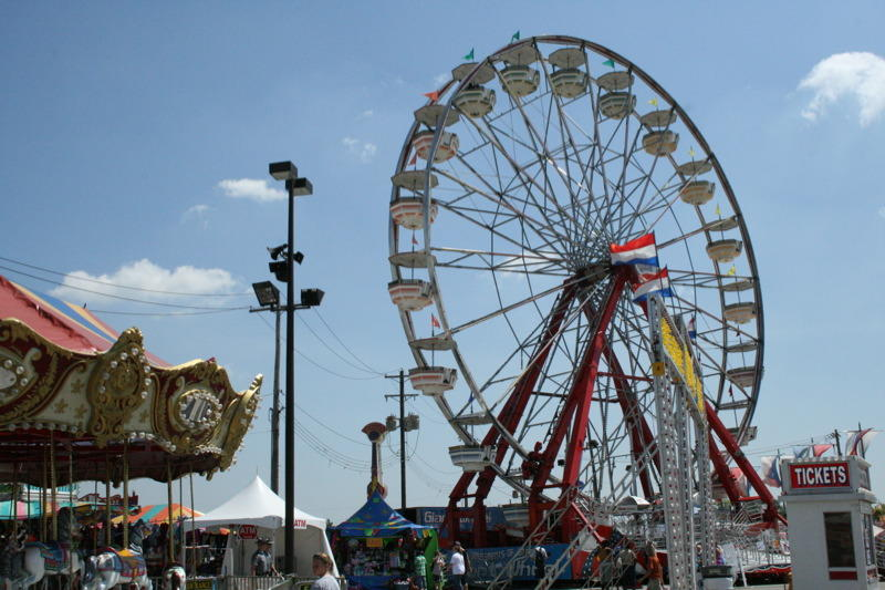 States neighboring Pennsylvania all have state fairs, including Ohio, pictured here.