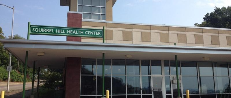The Squirrel Hill Health Center along Browns Hill Road has many patients struggling with health barriers.