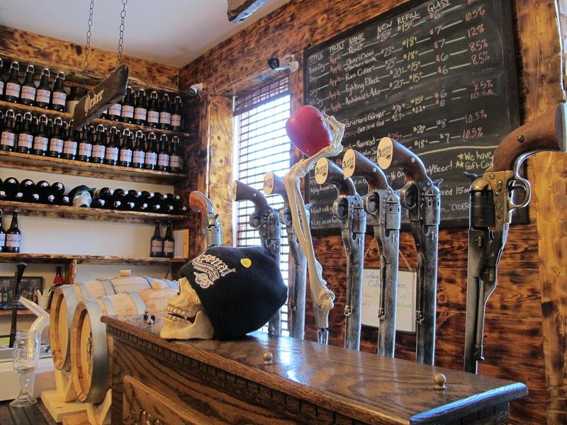 Arsenal Cider House in Lawrenceville typically has 8-12 varieties on tap at any given time.