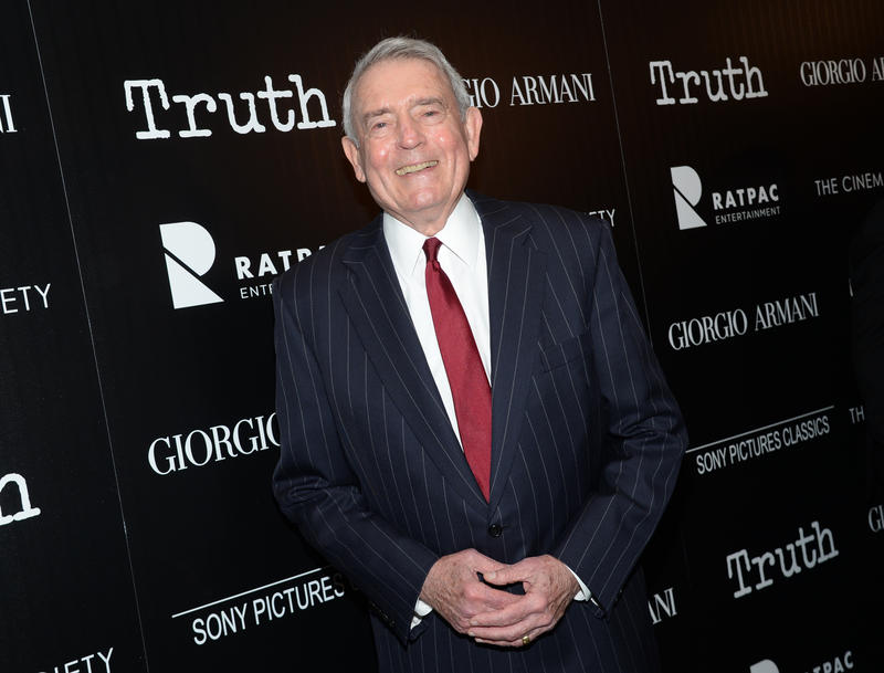 "Television journalist Dan Rather attends a special screening of ""Truth"" at The Museum of Modern Art on Wednesday, Oct. 7, 2015, in New York."