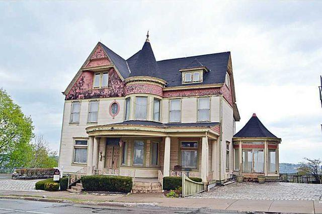 The last Victorian-style house in Mount Washington, 520 Grandview Avenue.