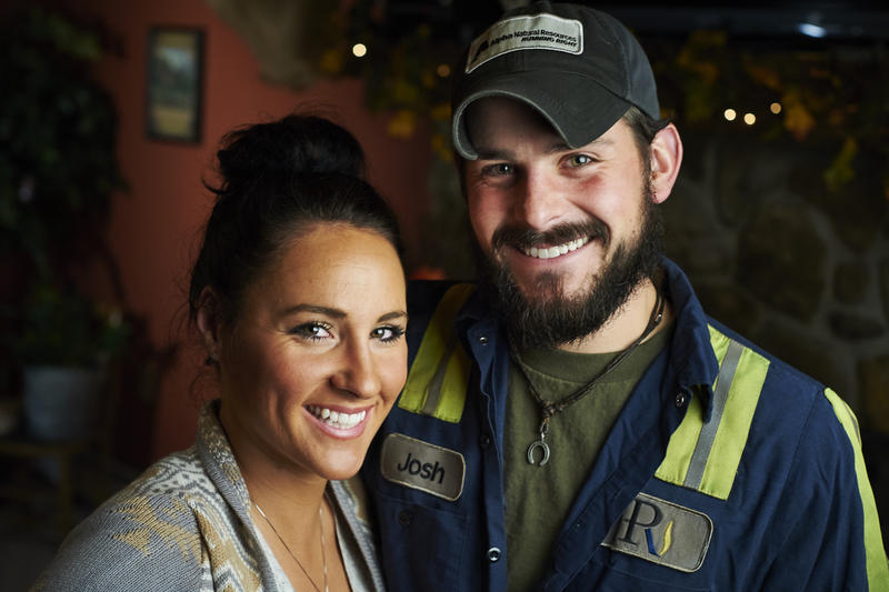 Whitney Beltowski said since meeting Josh she's come to respect not just miners but all people who work with their hands.