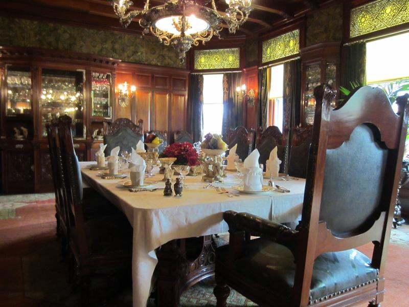 Clayton Mansion Dining Room 1