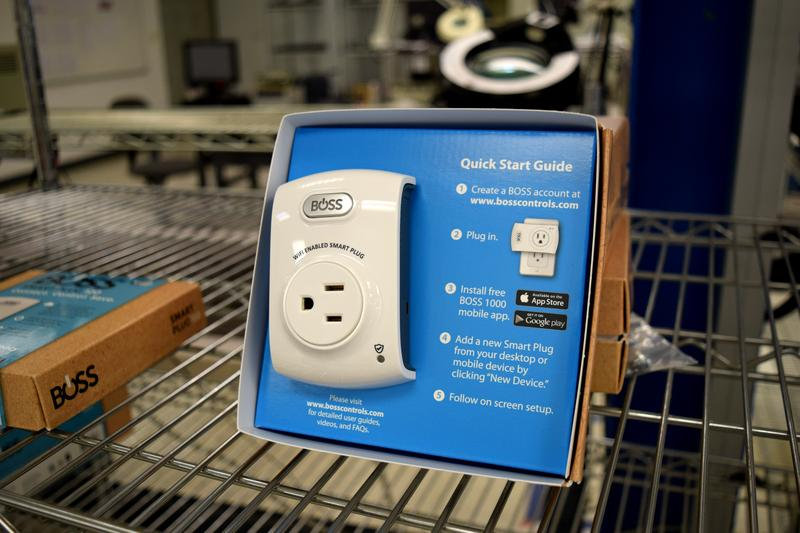 "Boss Controls' ""Smart Plug"" regulates the use of energy, cutting the cost of energy bills by 30 to 50 percent."